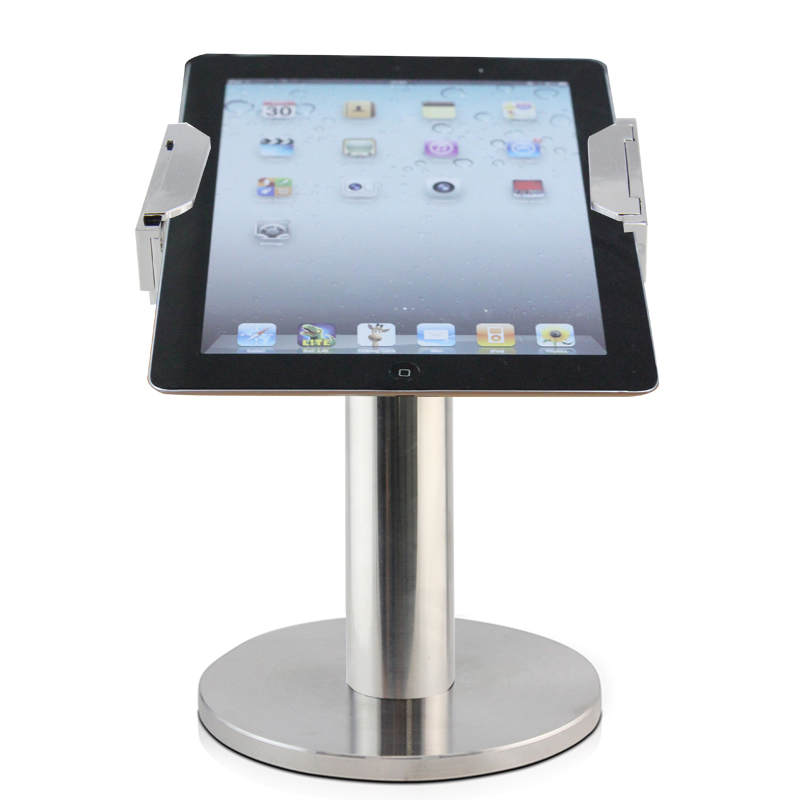 promotional items for 2016 secure key 7 inch tablet enclosure,rotating android tablet kiosk stand