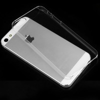 for iphone 5 / 5s Crystal clear hard plastic Case