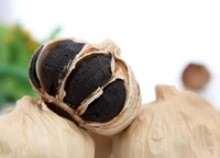 Healthy Food Black Garlic