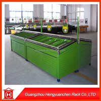 high quality fruit and vegetables display rack with various specification