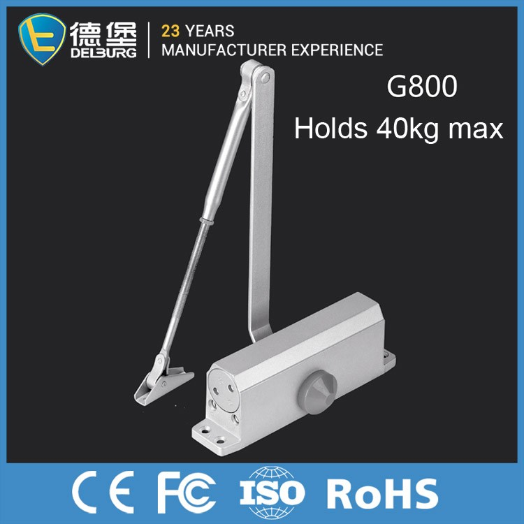 Remote Control Types Hydraulic Sliding Heavy Duty Automatic Aluminum Door Closer