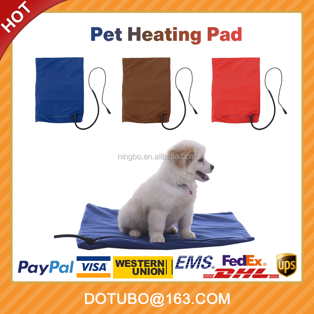12W Safety Waterproof Electric Pet Dog Cat Heating Pad Heater Warmer Mat Bed Blanket Heating Pad with LED indication