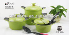 China factory direct prestige ceramic nonstick cookware sets