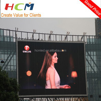 Factory price led commercial advertising display screen P8 outdoor rgb stage led display for concert