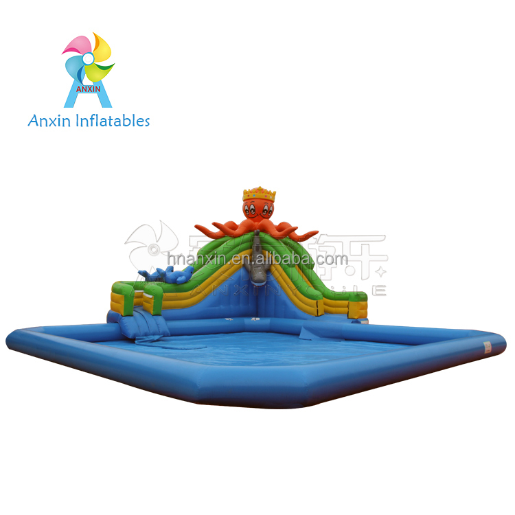 2018 new inflatable water park equipment,Home Used Backyard Commercial Kids Slides, giant inflatable water park