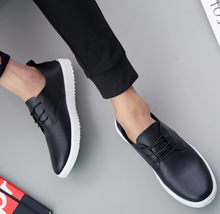 MS1093 flat shoes for man spring summer latest style men lace shoes