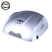 Nail systems motion-sensor lights sunshine light silver rechargeable CCFL LED UV lamp for nail