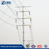 Electrical Equipment Supplies 110Kv Electric Pole