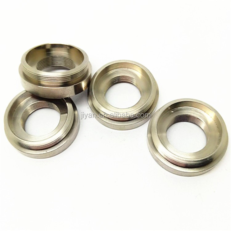 cnc manufacture supplier cnc turning parts stainless steel forging bearing spacer pack spacer rings