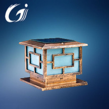 HOT garden led solar gate post pillar light with 3w