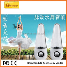 Best design multifunction large water dancing bluetooth speakers with FM radio wireless led light