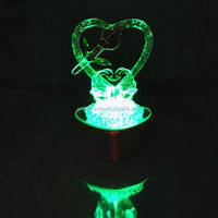 Beautiful Led Glass Gift For Wedding