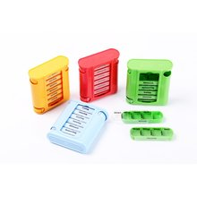 7 day weekly plastic pill box medicine organizer