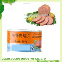 340G AND 198G CANNED PORK LUNCHEON