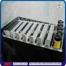 TSD-P022 factory supply Spring-feed shelf pusher system,plastic product pusher,rail divider
