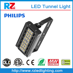 CE/RoHS/ETL/DLC Listed High quality Mean Well driver AC 347-480V ip66 Tunnel LED luminaire