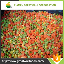 IQF Frozen Mixed Vegetables with green pea / sweet corn kernel /carrot dices