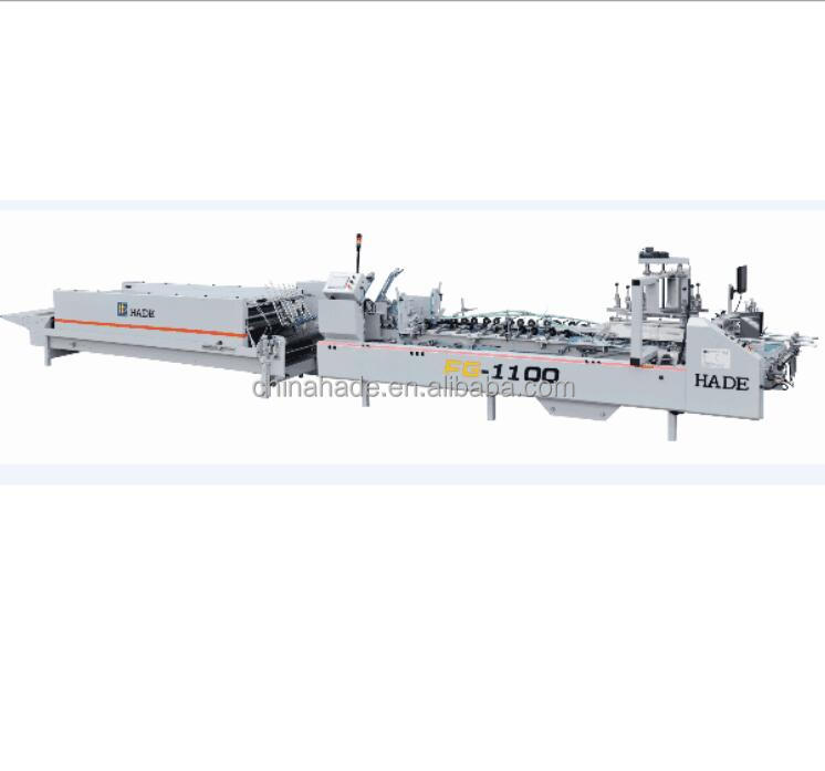 FG-1100 Automatic folder gluer machine