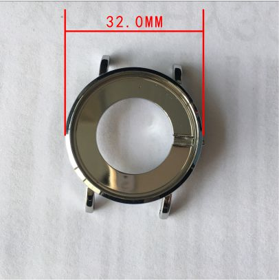 slim watch case 32mm, stainless steel watch case, good price good quality