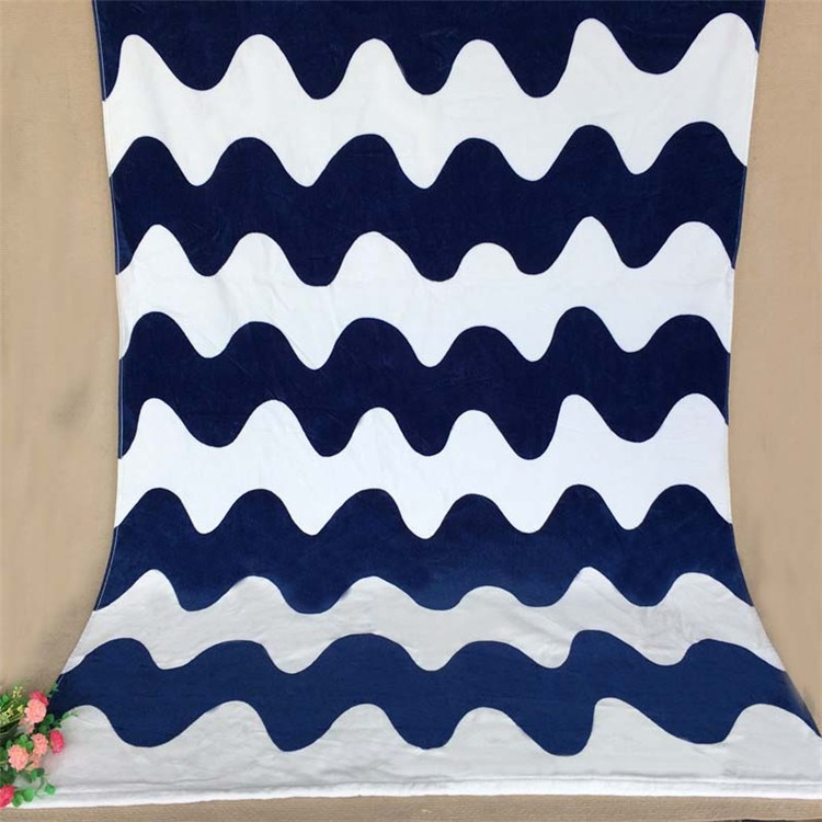 Home Textile New High Quality 70*140cm Quick-Dry 100% Cotton Bath Beach Towel for adults Baby