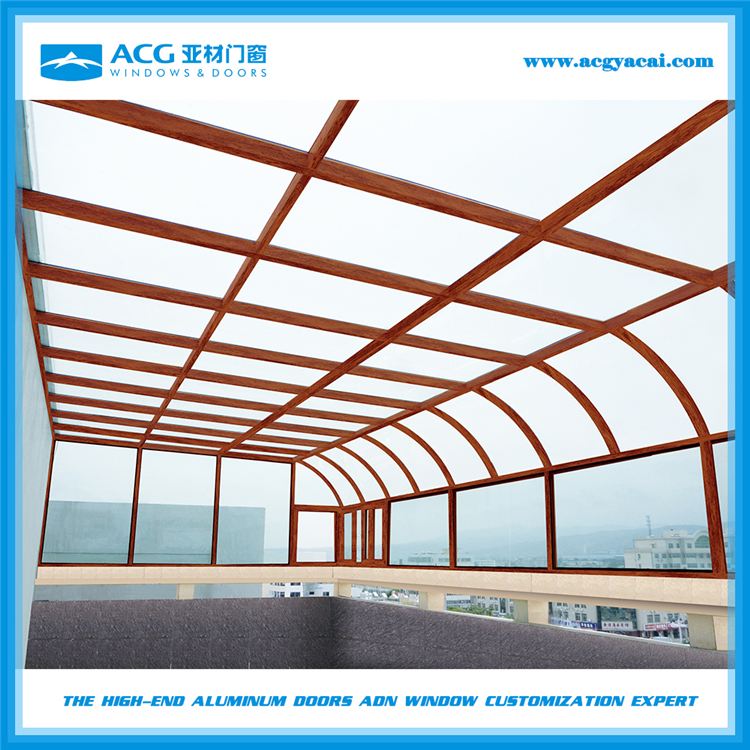 High quality products outdoor glass room