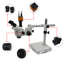 14MP HDMI USB Industrial Digital Camera Trinocular Microscope