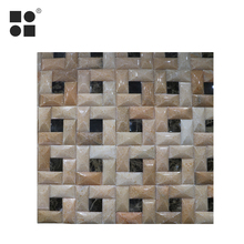 China Gold Supplier wholesale stone marble mosaic wall tiles