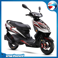 Bewheel chinese popular style motorcycle 125cc gas scooters for adults