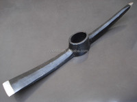 machine forged pickmattock/pickaxe/roll forged railway steel pick