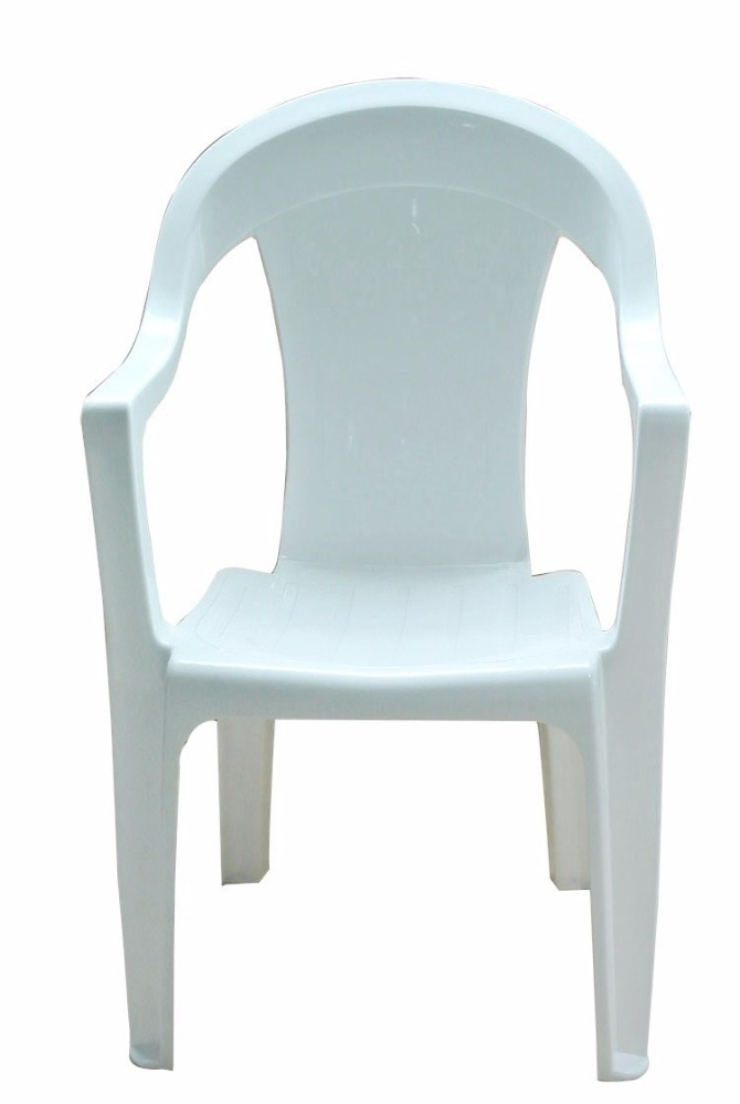 Outdoor plastic tables and chairs for weddings