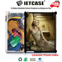 OEM Custom Design 2D Sublimation Printing Smart Cover for iPad 2 case