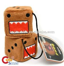 domo kun plush dice
