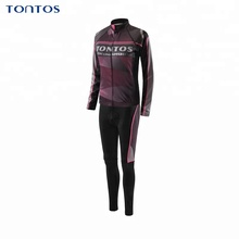 Tontos Womens best breathable cycling Apparel long sleeve cycling uniform