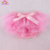 Boutique baby clothing tutu shorts bloomers plain pink chiffon baby kids girls skirted all around ruffle bloomers