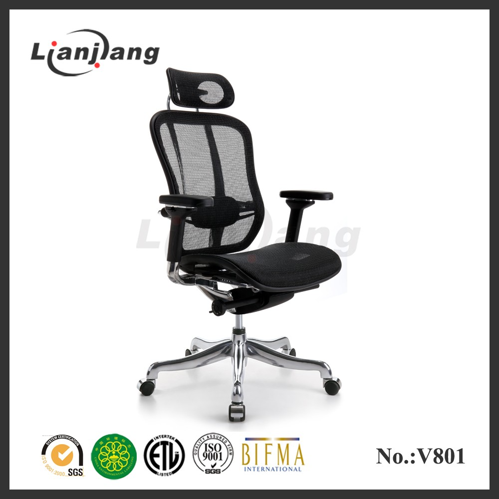 Famous high-tech 5 star hotel office chair