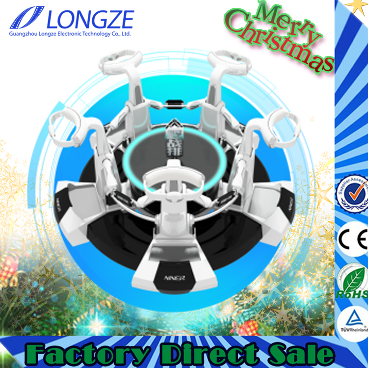 Longze amusement center interactive games gear vr play machine for kid and adults