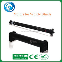 Convenient electric motor for vehicle blinds