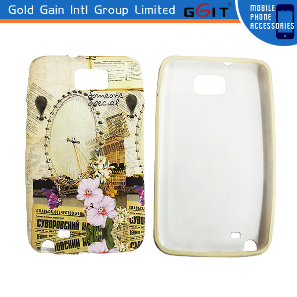 Hotselling Water Transfer Printing Case For Samsung S2 I9100 Diamond Case For S2
