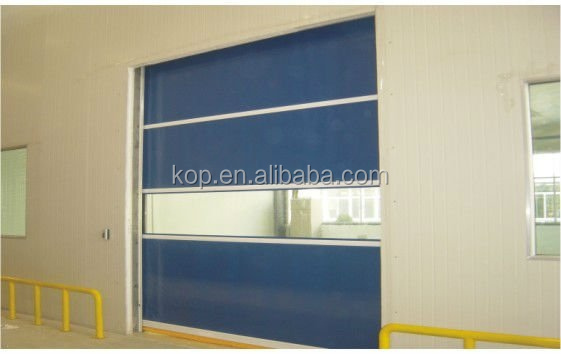 Industrial Automatic Rapid Roll Door, PVC Fabric Rapid Roll up Door