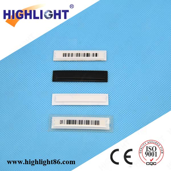 Highlight anti-theft EAS security strip AL001AM supermarket electronic labels deactivable EAS AM soft label