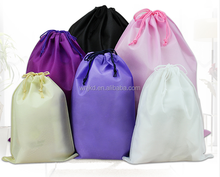 Wholesales disposable cheapest large hotel drawstring non woven portable washing laundry bags in bulk