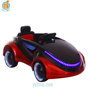 WDHL208 Best Selling Electric Tires Car Winter Model With Four Wheel Suspension For Kids
