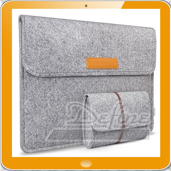 Felt Laptop Sleeve Case Cover Netbook Carrying Case Protector Bag