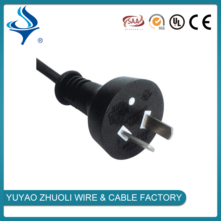 Home Appliance ul 2 pin clear gold power cord