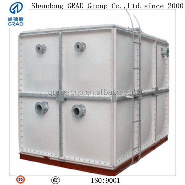 GRAD food grade panels frp container,frp water tank