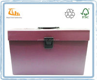 FC size 19 pockets paper expanding file folder