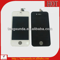 Strong incoming new LCD display screen with digitizer assembly for iphone 4 and wholesale at the bottom price