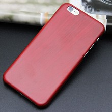 Imitation wood pc phone case for iPhone6 realistic strong luxury