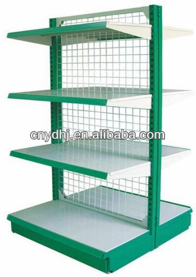 Metal display stand shelving/shelf racks for store and grocery