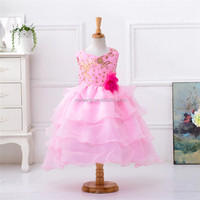 Casual Princess Bridal Ball Gown Kids Wedding Dress Pictures For Flower Girls